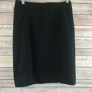 Halogen Classic Black Pencil Skirt- Size 4